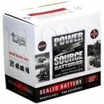WPX30L-BS 30ah AGM Battery replaces Bikers Choice YB30L-B, 78-1111