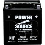 WPX30L-BS 30ah Sealed Battery replaces Duralast CB30L-B, CB30LB