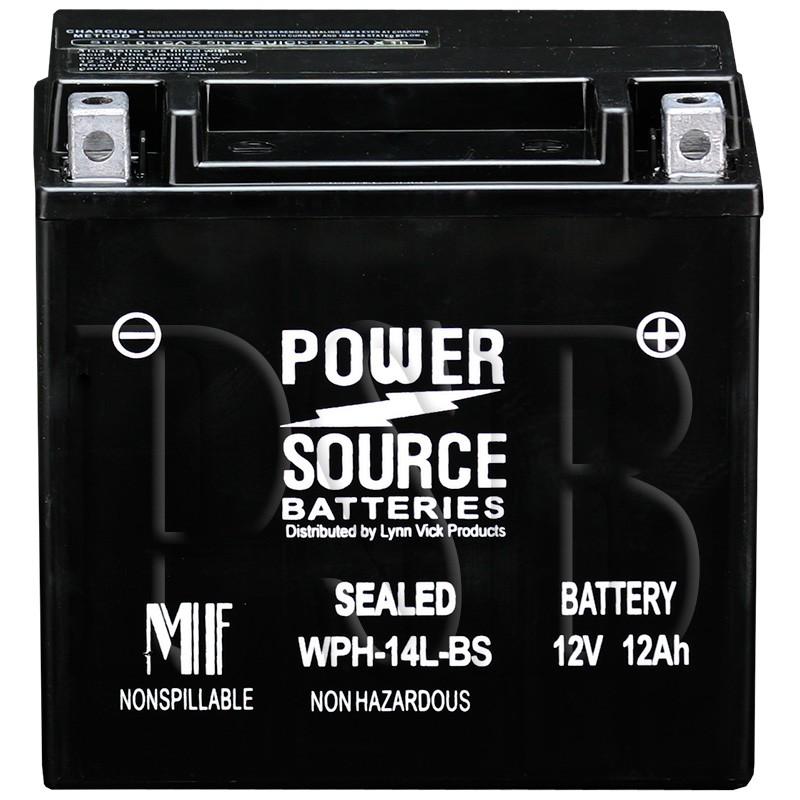 Harley Davidson Sportster  Custom Battery Amps