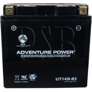 Yamaha 2014 Raider XV 1900 XV19CECR Motorcycle Battery