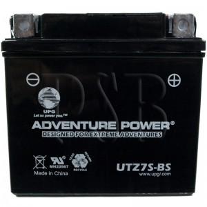 Yamaha 2015 Zuma YW 50 F YW50FFGR Scooter Battery Dry Upgrade