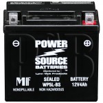 Yamaha 2013 Zuma YW 50 YW50FDR Scooter Battery AGM