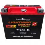 2012 FLSTSE3 CVO Softail Convertible 1802 Motrcycl Battery HD Harley