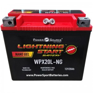 2007 VRSCDX Night Rod Special 1130 HD Battery for Harley