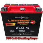 2009 FLSTC Heritage Softail Classic 1584 HD Battery for Harley