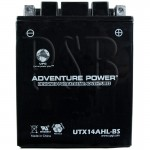 Ski Doo 12N14-3A Snowmobile Replacement Battery Dry