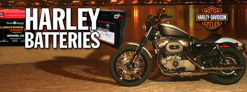 HARLEY DAVIDSON MOTORCYCLE BATTERIES