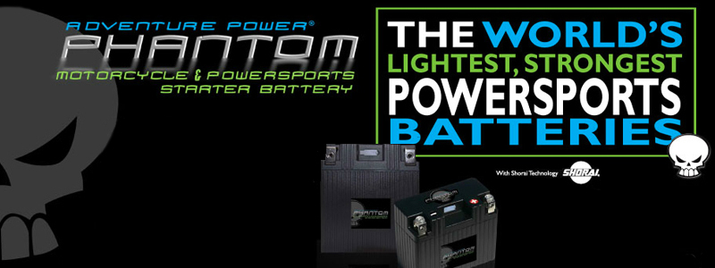 PHANTOM LifePO4 LITHIUM LIGHTWEIGHT BATTERIES