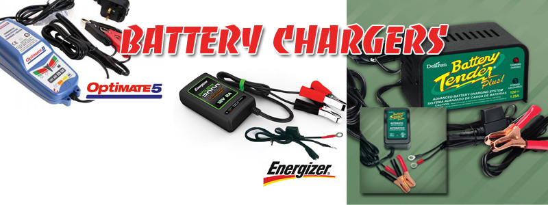 POWERSPORT BATTERY CHARGER MAINTAINERS