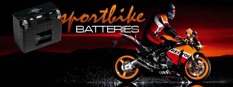 SPORTBIKE AGM AND LIGHTWEIGHT BATTERIES